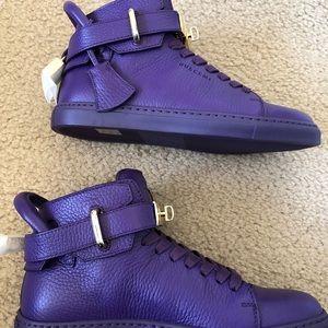 Buscemi Shoes - BUSCEMI 100MM Flat Womens Violet Purple 6(36)